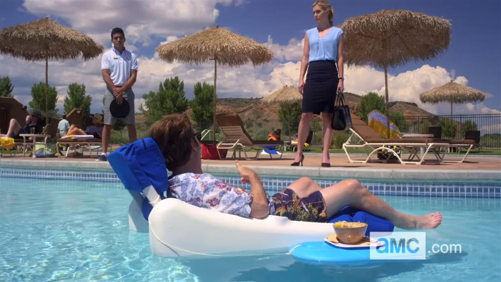 Better Call Saul - Pool Scene - Furniture Leisure Chaise Lounges