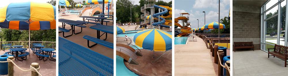 Water Park Commercial Outdoor Furniture