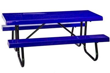 "8 Ft. Fiberglass Picnic Table With Galvanized 1-5/8"" Welded Frame"