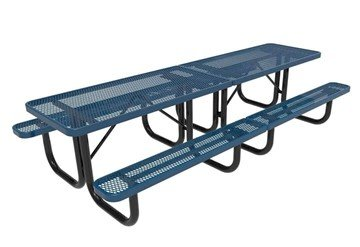 Picture of RHINO 10 ft. Thermoplastic Polyolefin Coated Picnic Table - Quick Ship - 368 lbs.