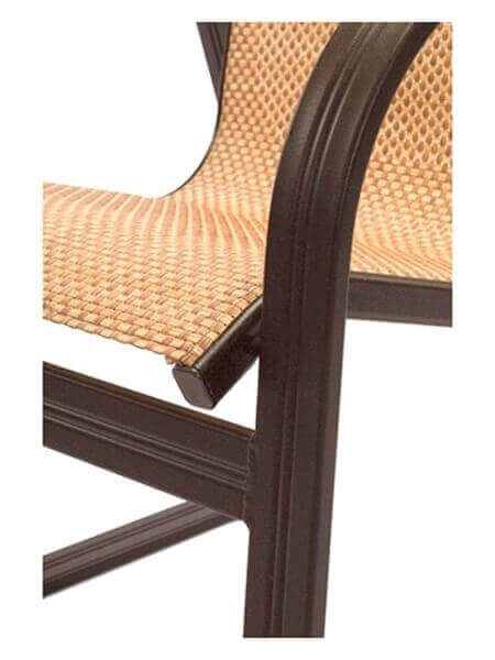 Cabo Chaise Lounge Commercial Aluminum Frame With Sling