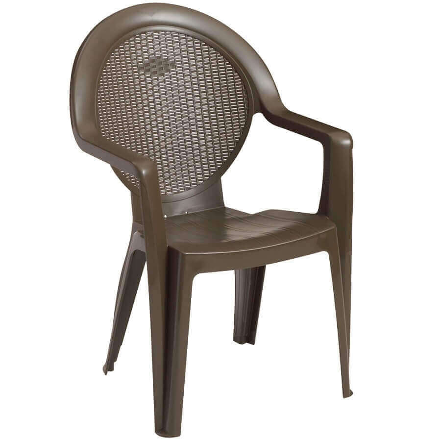 Trinidad Commercial Plastic Resin Stacking Armchair