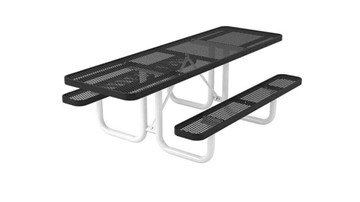 Picture of Ultra Leisure Style Polyethylene Coated Metal ADA Picnic Table - Dual Access - 8 ft.