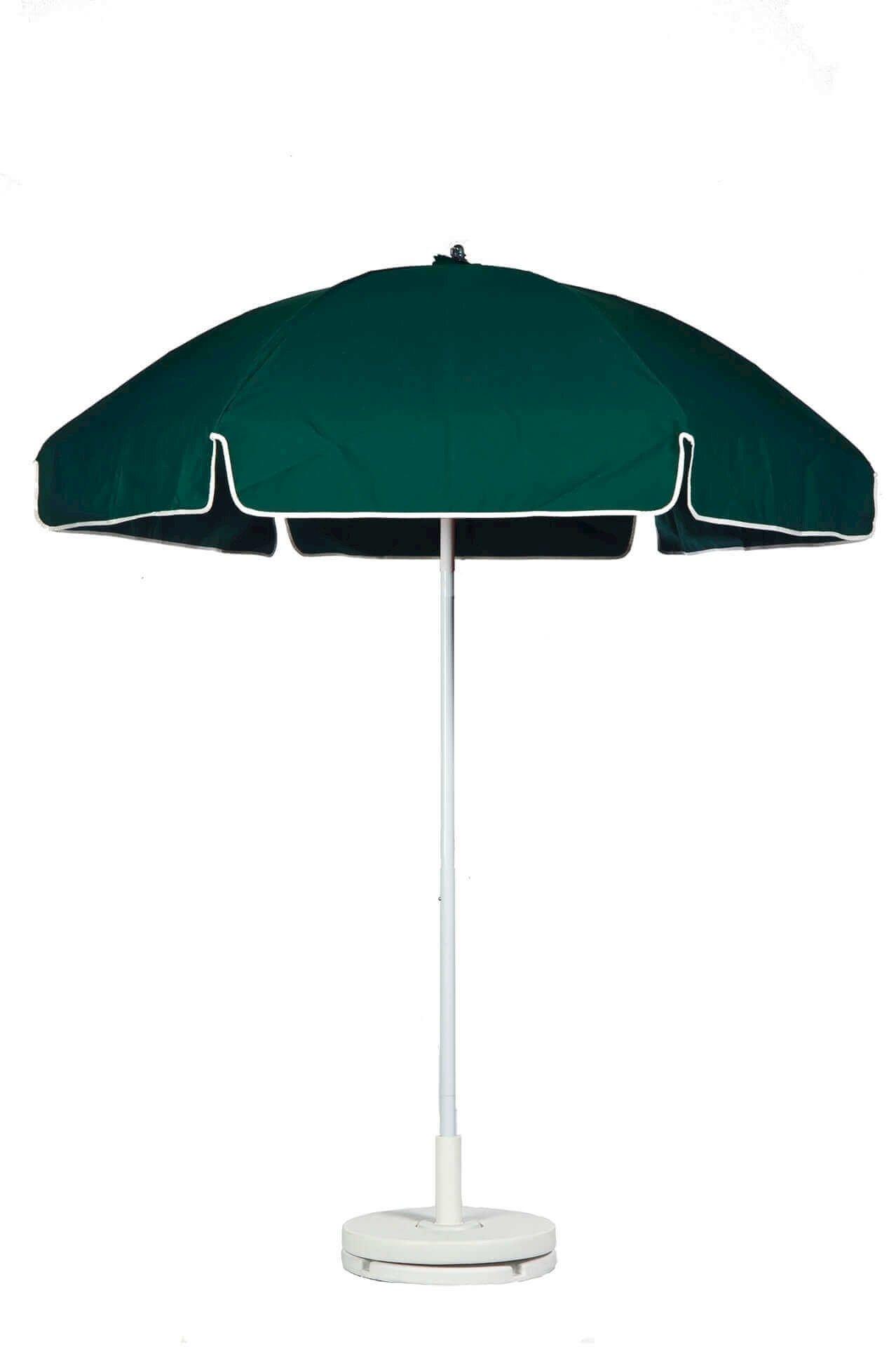 6 5 foot acrylic lifeguard printed umbrella furniture leisure. Black Bedroom Furniture Sets. Home Design Ideas