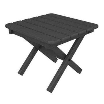 """18"""" Square Recycled Plastic Side Table from Polywood"""