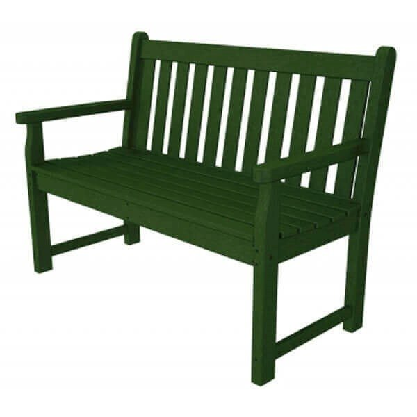 Traditional Garden Recycled Plastic Bench From Polywood