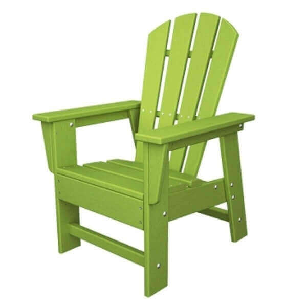 South Beach Adirondack Recycled Plastic Kid Chair From