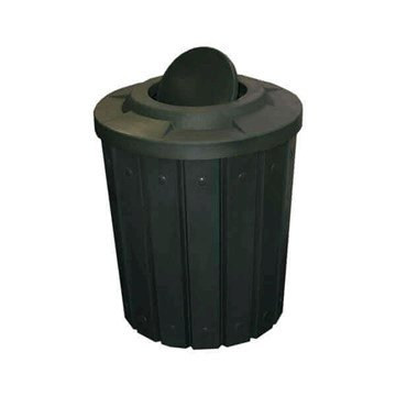 42 Gallon Plastic Receptacle with Bug Barrier Lid & Liner