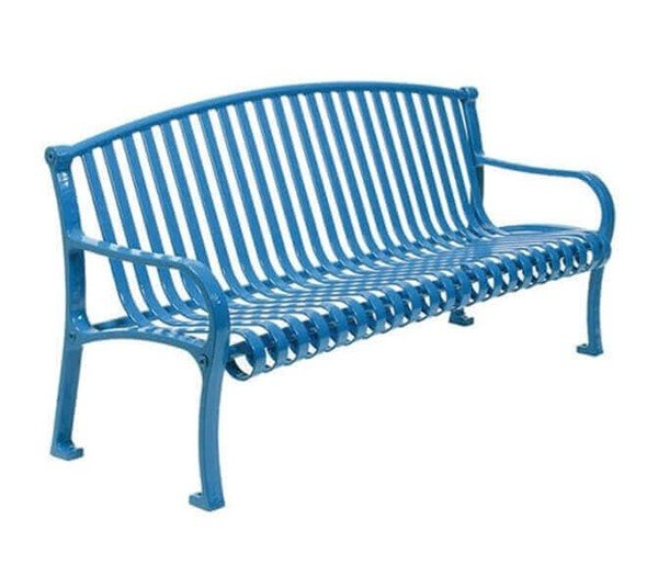 Picture of Northgate Ribbed Style Thermoplastic Steel Bench - 6 or 8 ft.