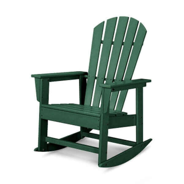 South Beach Recycled Plastic Rocker Chair From Polywood 34 Lbs Furniture Leisure