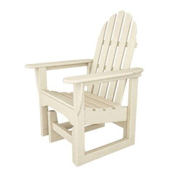 Adirondack Recycled Plastic Porch Glider Chair From Polywood