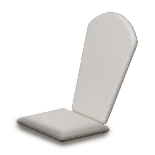 Shell Back Adirondack Chair Full Cushion From Polywood