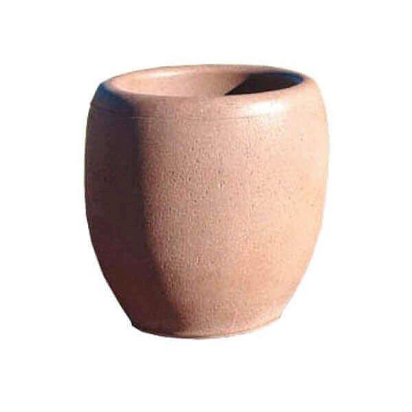 """18"""" Commercial Round Concrete Planter"""