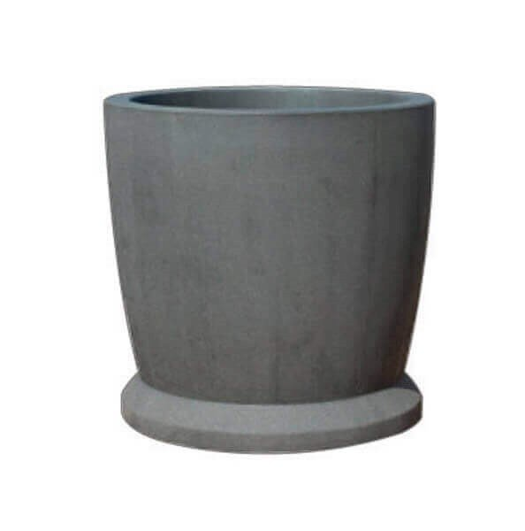 "36"" Commercial Round Concrete Planter"