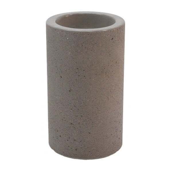 Commercial Concrete Pyramid Round Snuffer Receptacle