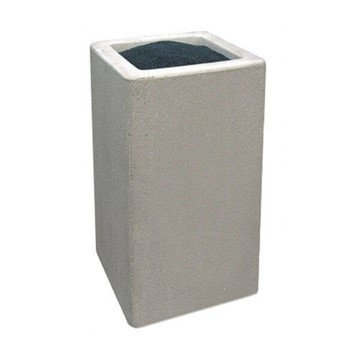 Commercial Concrete Square Snuffer Receptacle