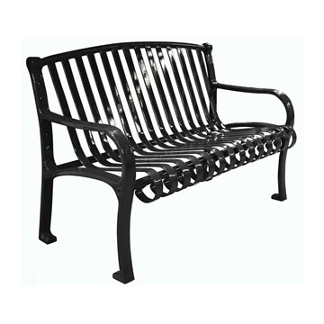 Picture of Northgate Ribbed Style Thermoplastic Steel Bench - 4 or 5 ft.