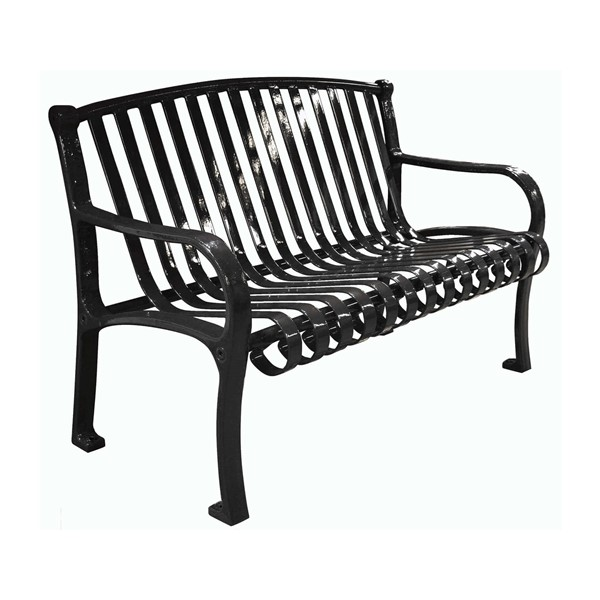 Northgate Ribbed Style Thermoplastic Steel Bench