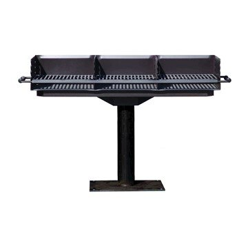 Triple Bay Steel Construction Group Grill
