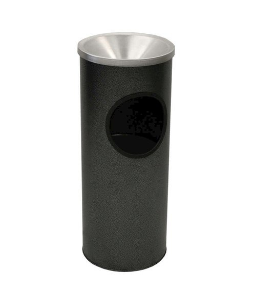 3 Gallon Standard Trash & Ash Urn w/ Galvanized Liner - 9 Lbs.