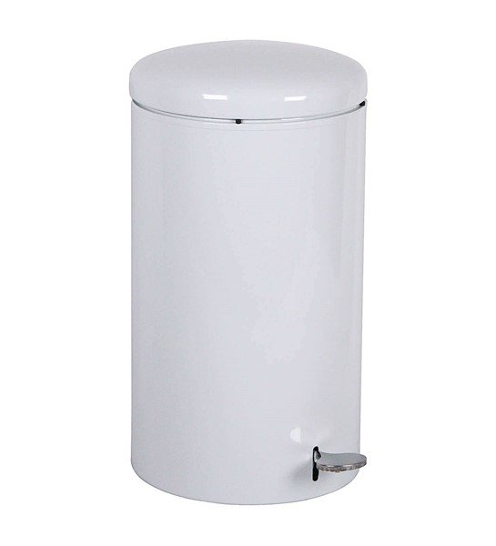 OSHA Compliant 7 Gallon Steel Step-ON Open Top Trash Can