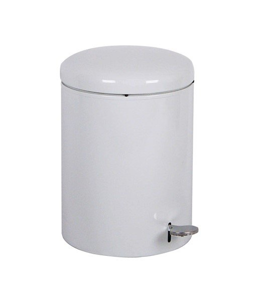 OSHA Compliant 4 Gallon Steel Step-ON Open Top Trash Can