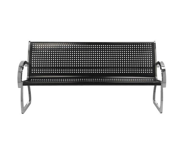 Skyline Stainless Steel Bench With Black Powder Coated Seat