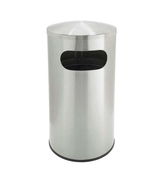 15 Gallon Precision Commercial Stainless Steel Trash Receptacle
