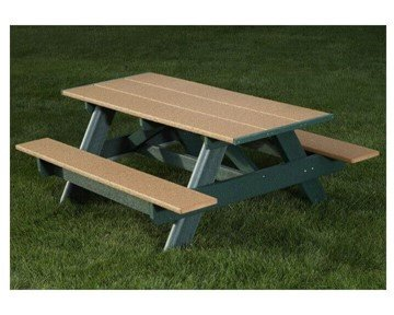 6 Ft. Classic Recycled Plastic Picnic Table