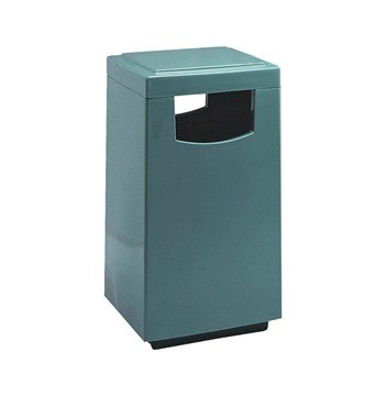 30 Gallon High Capacity Indoor Trash Receptacle with Pitch In Lid, 45 lbs.