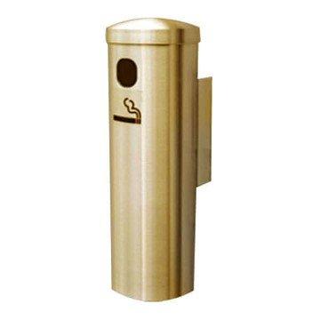 "12"" Glaro Deluxe Wall Brass Mount Cigarette Disposal"