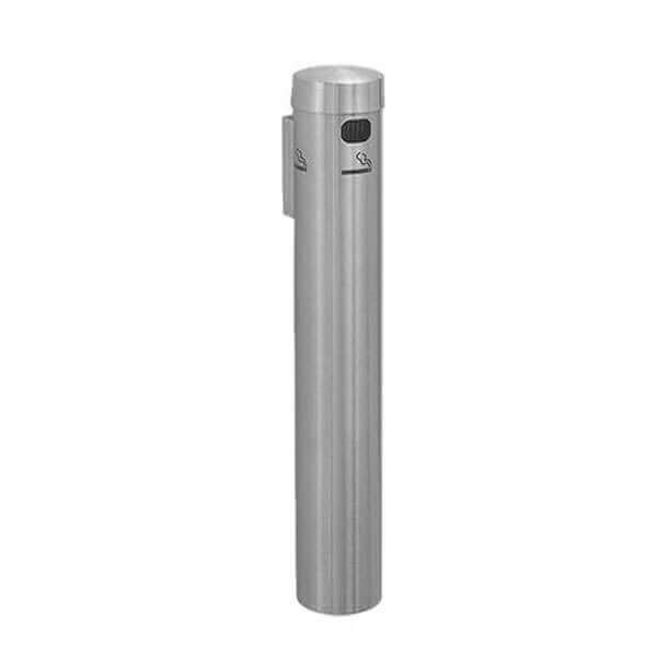 "24"" Glaro Deluxe Wall Aluminum Mount Cigarette Disposal"