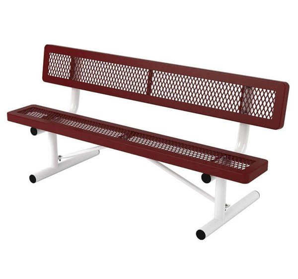 6 Ft. Children Thermoplastic Bench