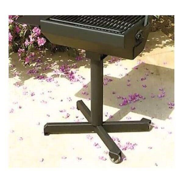 Portable Castor Base For Covered Grill