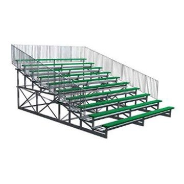 15 Ft. 10 Row Powder-Coated Aluminum Bleacher