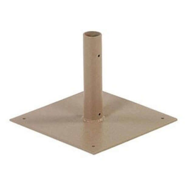Deck Plate Umbrella Base Surface Mount Furniture Leisure