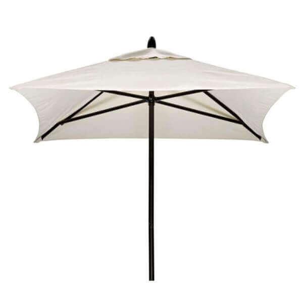 6 Ft Telescope Casual Powdercoat Aluminum Market Umbrella