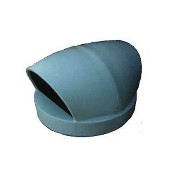 55 Gallon Molded Plastic Dome Top Lid With 2-Way Top