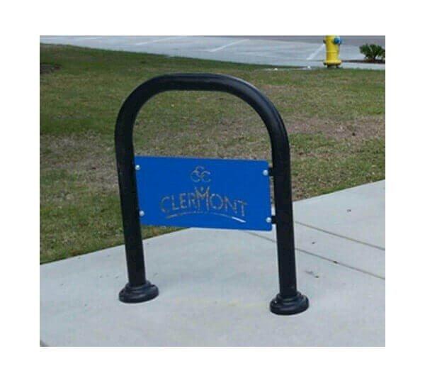 Custom Logo Single Loop Style Bike Rack