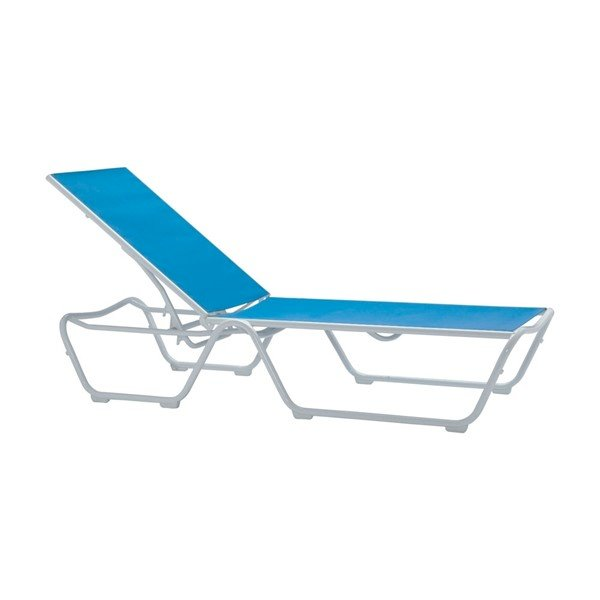 Millennia Relaxed Sling Chaise Lounge - 19 lbs.