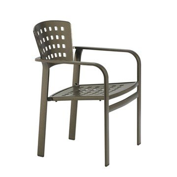 Impressions Cast Aluminum Dining Chair - 16.5 lbs.