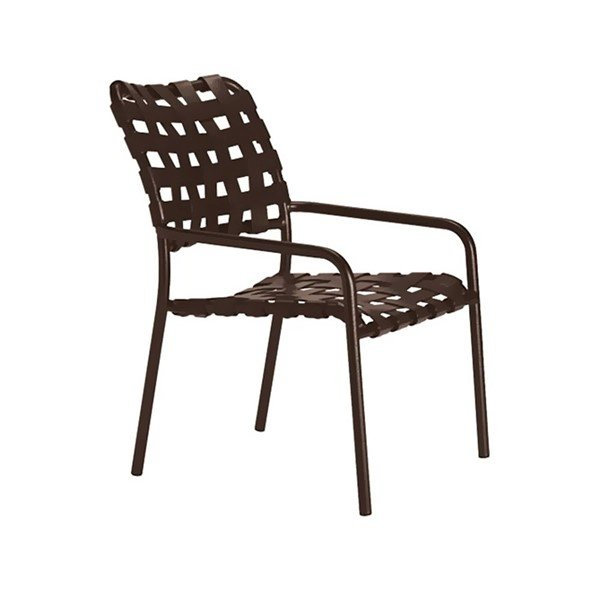 Kahana Cross Strap Dining Chair - 11 lbs.