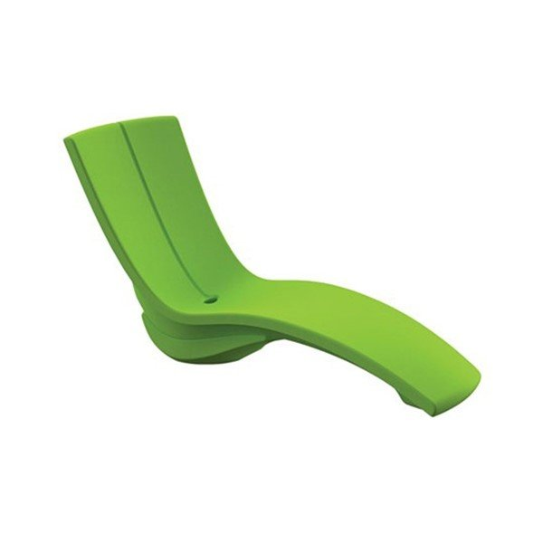 Curved In-Pool Rotoform Polymer Chaise Lounge - 60 lbs.