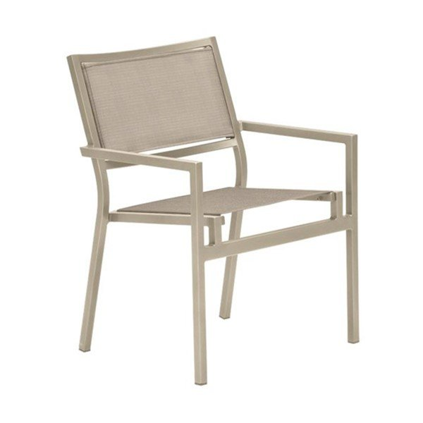 Cabana Club Sling Dining Chair with Aluminum Frame - 8.5 lbs.
