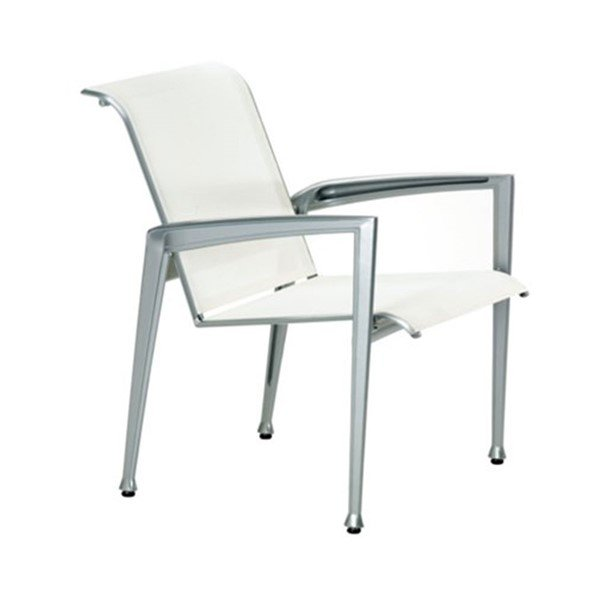 Veer Sling Patio Dining Chair with Aluminum Frame - 17 lbs.