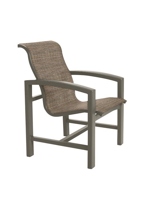 Lakeside Sling Dining Chair With Aluminum Frame