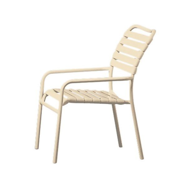 Kahana Strap Dining Chair with Aluminum Frame - 8 lbs.