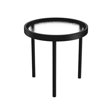 "16"" Acrylic Round Tea Table by Tropitone - 8 lbs."