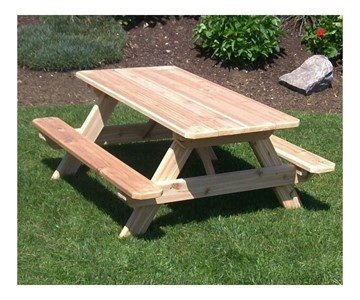 Traditional Kids Wooden Picnic Table