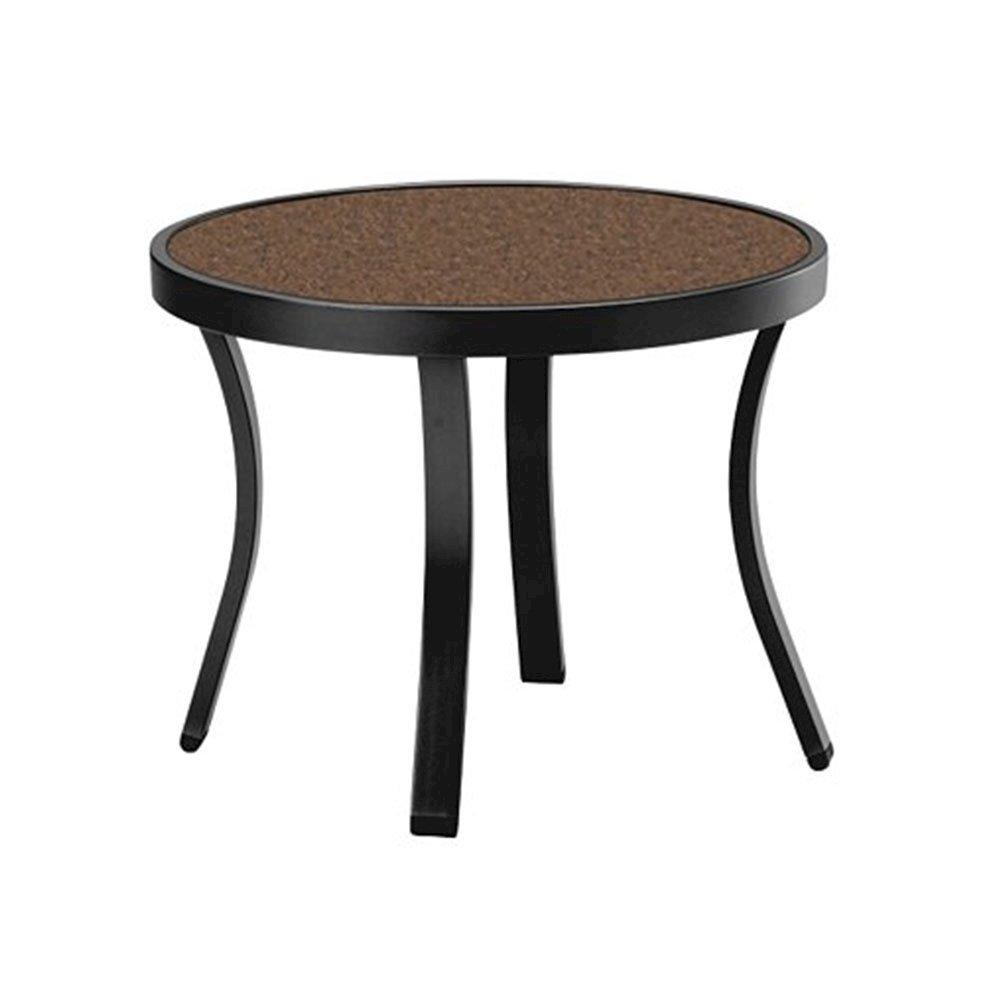 20 Round High Pressure Laminate Designer Tea Table With
